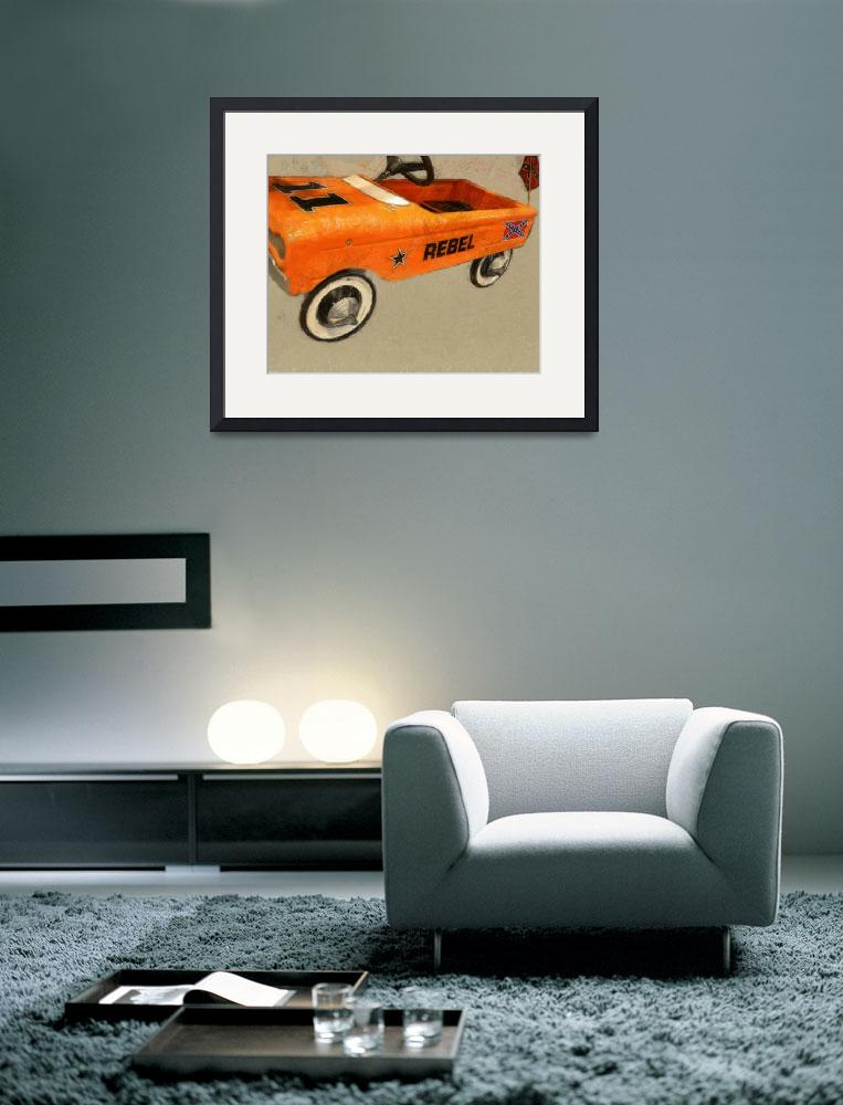 """""""Rebel Pedal Car&quot  (2013) by Michelle1991"""