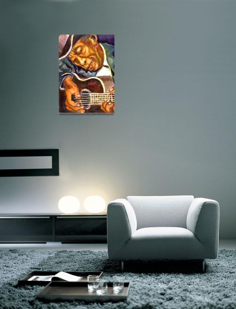 """Guitarman&quot  (1994) by artistfaye"