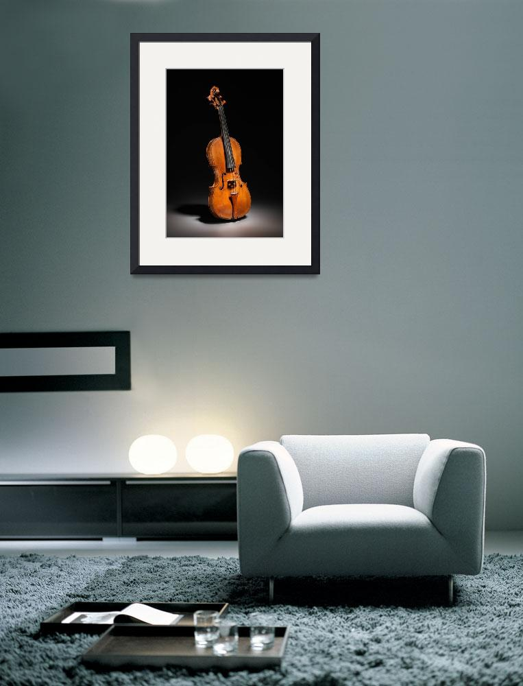 """""""Historical Italian Cello Photograph (1560)""""  by Alleycatshirts"""
