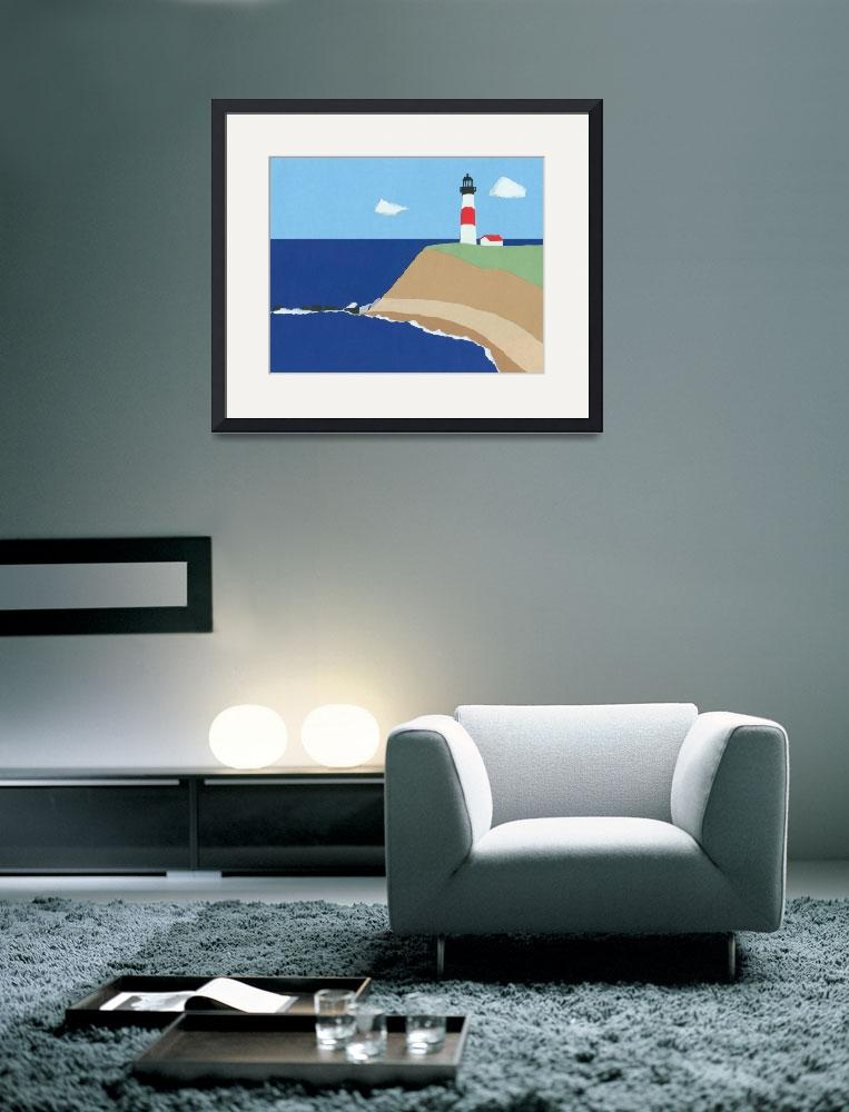"""""""Lighthouse&quot  by RosemaryMcGuirk"""