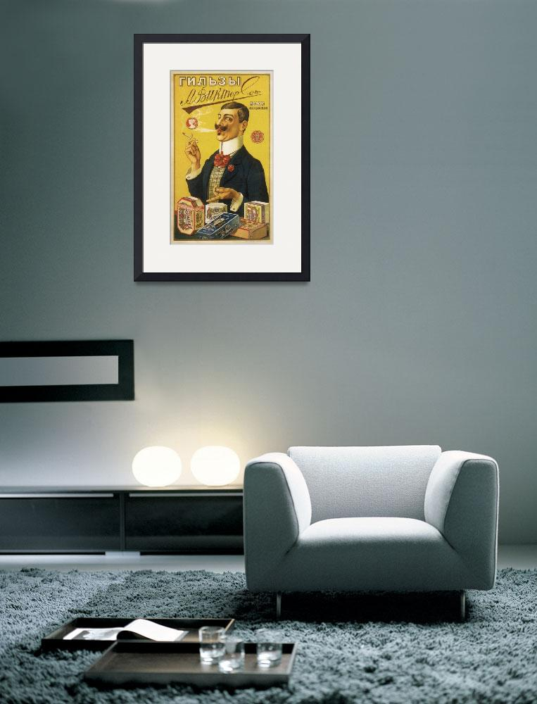 """Art Deco Poster Framed Print""  by LifeHack"