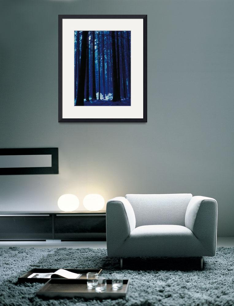 """""""Blauwald&quot  (1990) by fineartphotogifts"""