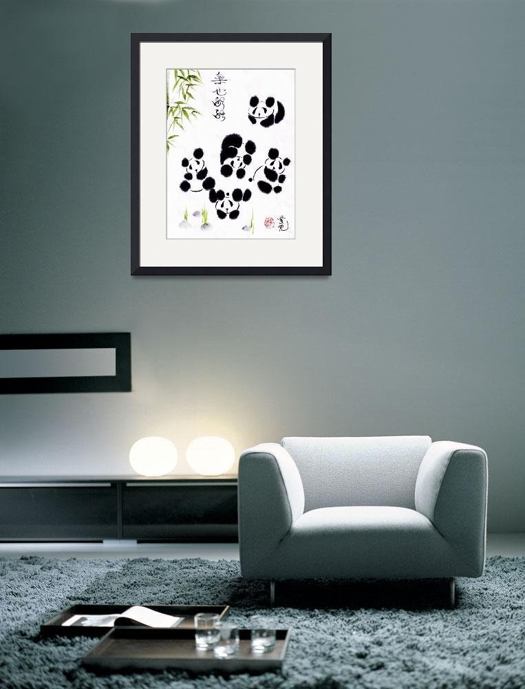 """""""Happiness Is Getting Along&quot  (2011) by oystudio"""