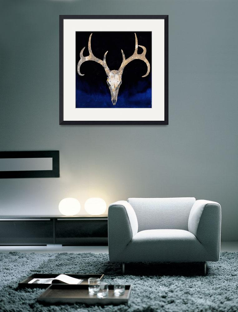 """""""Deer Skull&quot  by creese"""