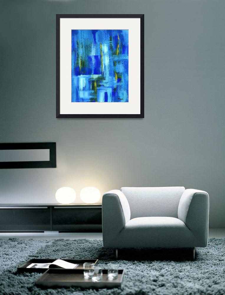 """""""Sky Juice From Original Abstract Painting&quot  (2007) by Itaya"""