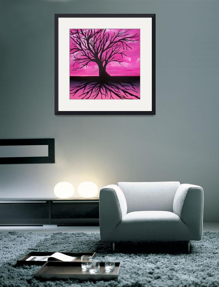 """""""Midnight Pink&quot  (2010) by LegacyArts"""