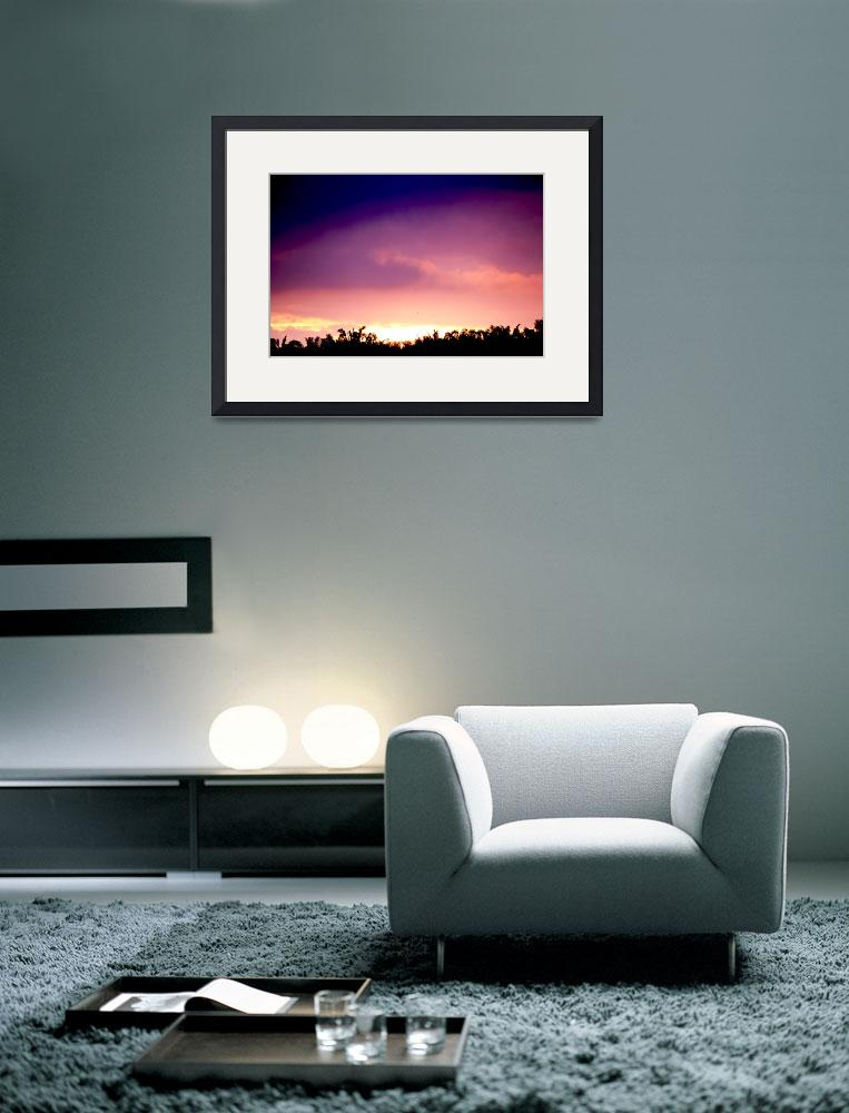 """""""Colored Sunset&quot  (2012) by masteramuk"""