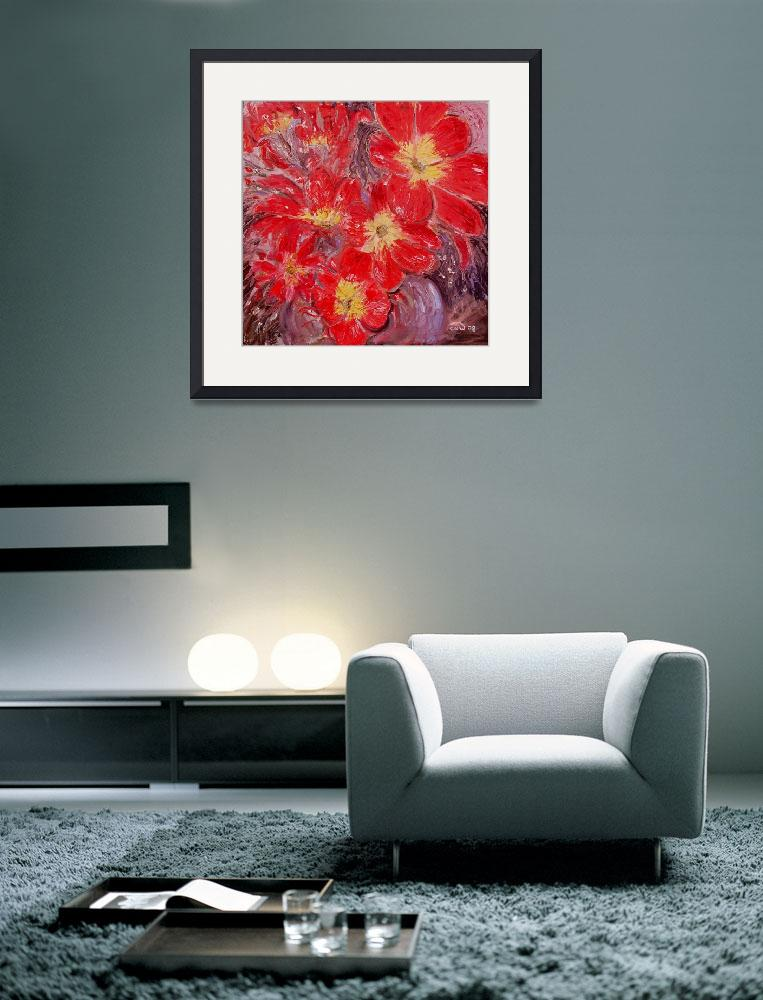 """Explosion in Red 2&quot  (2008) by Nash-Wood"