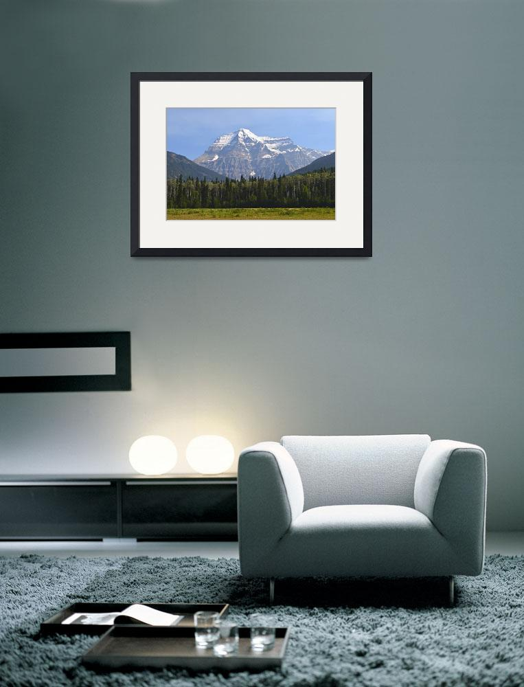 """""""Magnificent Mount Robson&quot  (2014) by DaveSills"""
