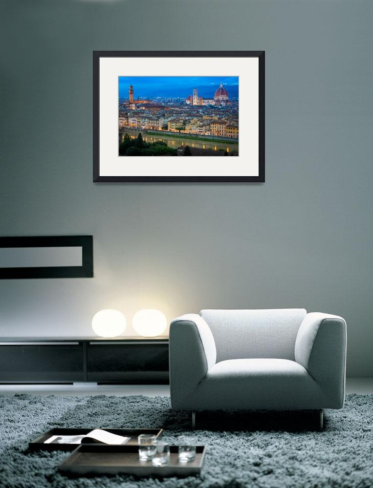"""Firenze By Night&quot  (2013) by Inge-Johnsson"
