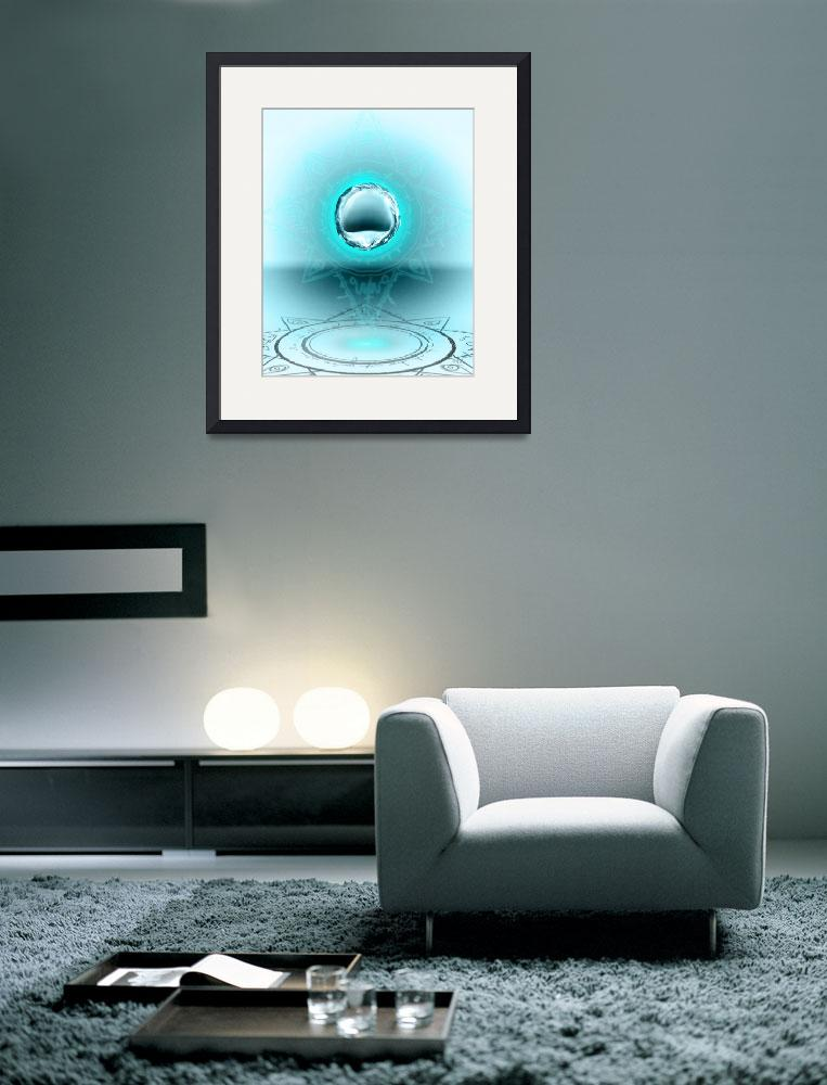"""""""Circle Water&quot  (2012) by MichaelAMorel"""