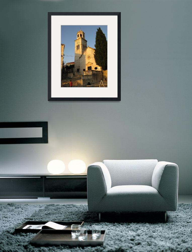 """Cavtat Church&quot  (2008) by leyla"