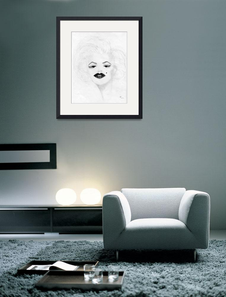"""""""Marilyn Monroe&quot  by freedomart1"""