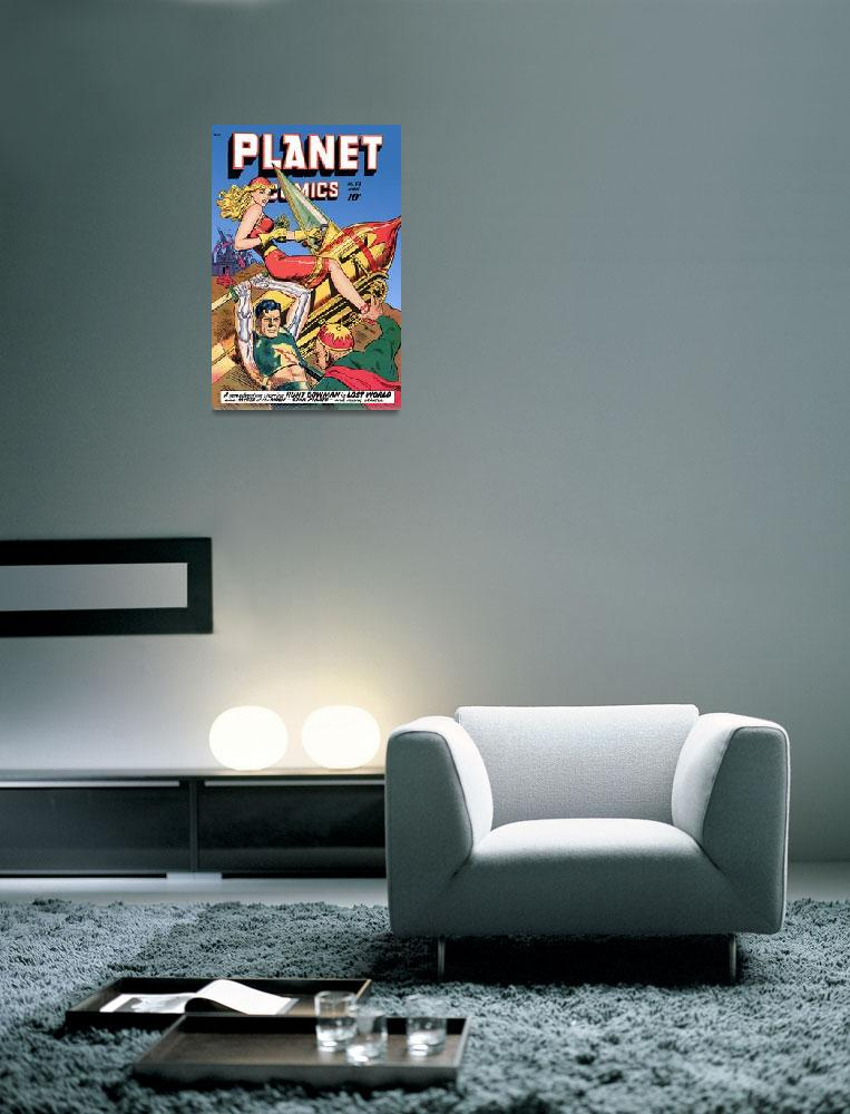 """Planet Comics""  (2011) by dalidayna"