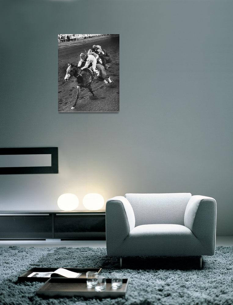 """""""Turn To Reason Horse Racing Vintage""""  by RetroImagesArchive"""
