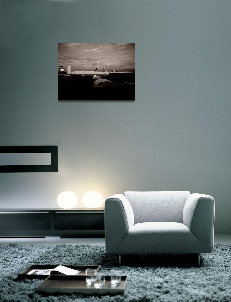"""Moonrise Kensington""  (2008) by lensnation"