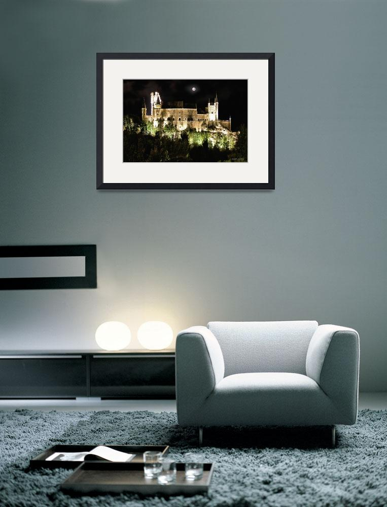 """""""Segovia Castle by Night&quot  (2009) by IMAX007"""