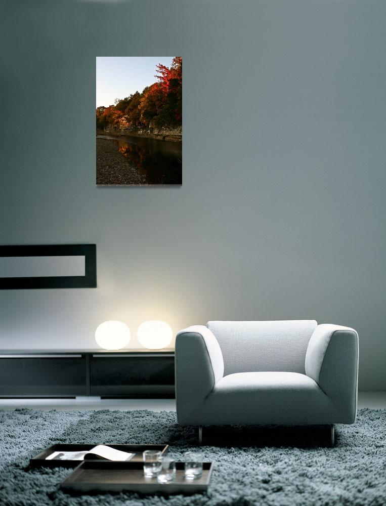 """""""Autumn Reflections""""  (2012) by picturesbybgale"""