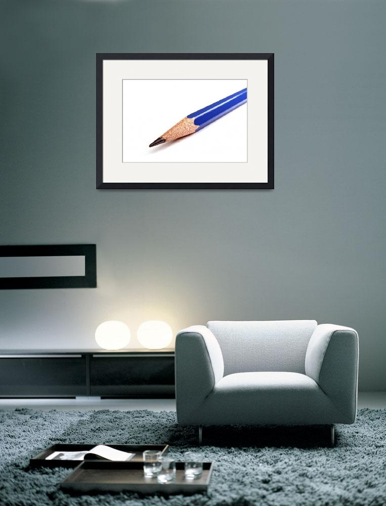 """""""Isolated pencil.&quot  by FernandoBarozza"""