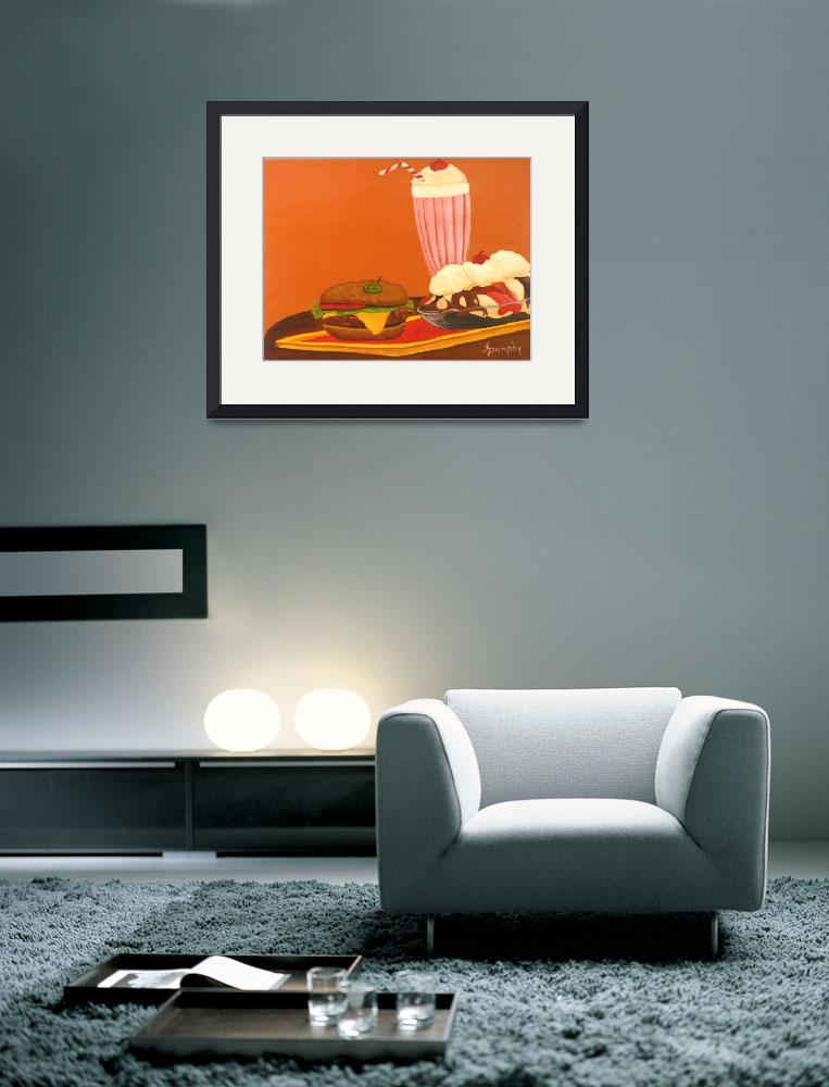 """""""Fast Food&quot  (2012) by anthonydunphy"""