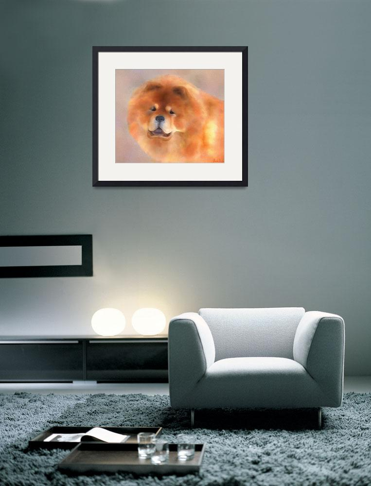 """Chow Chow Beauty""  (2010) by ccfabulous"