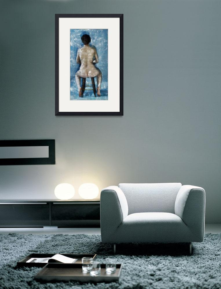 """""""Nude In Chair&quot  (2012) by leapdaybride"""
