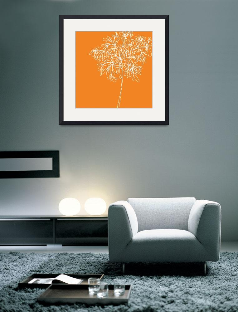 """Blossom Pop Orange""  (2013) by TuesdayMoon"