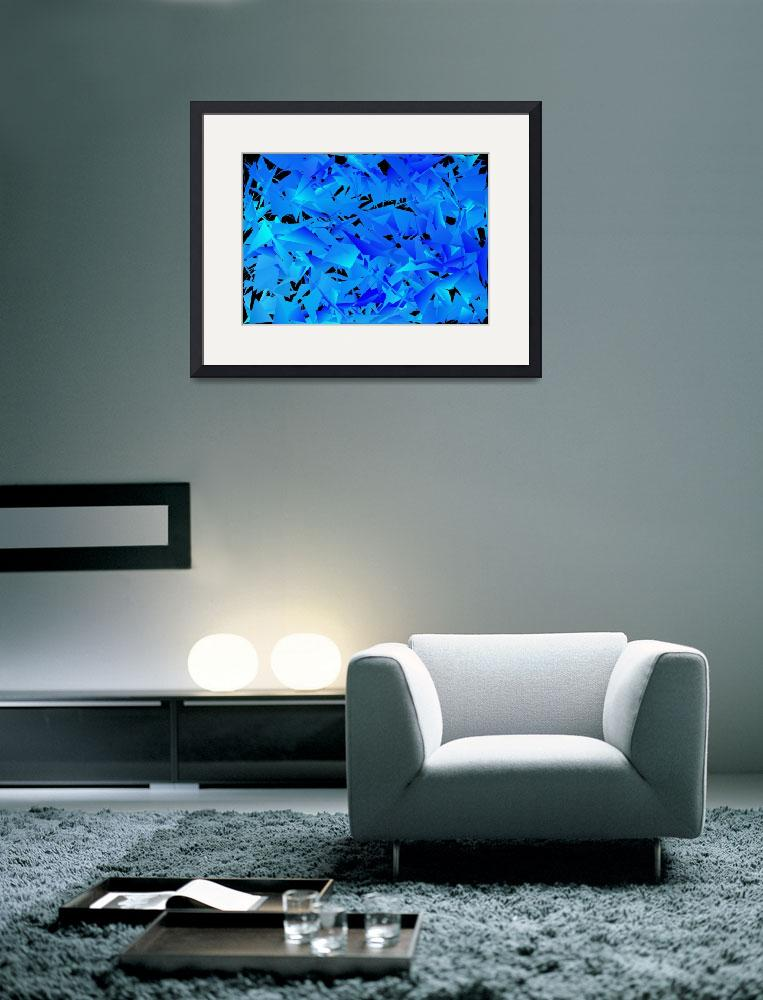 """""""Cool Blue&quot  (2014) by Tronagallery"""