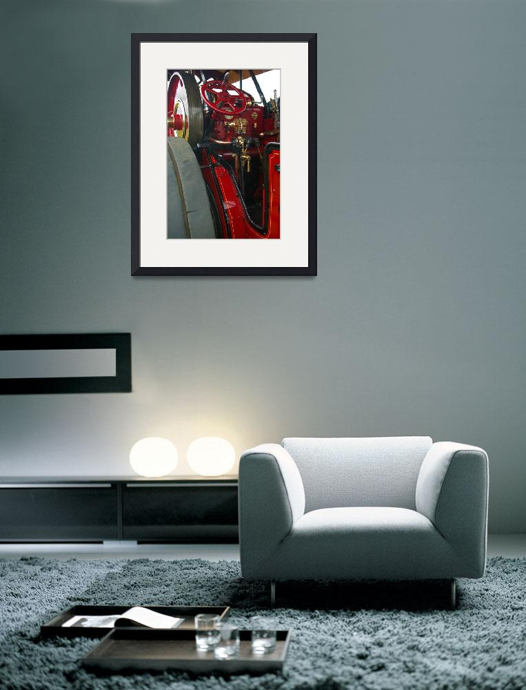 """""""Traction Engine Steering Gear&quot  (2010) by loversdream"""