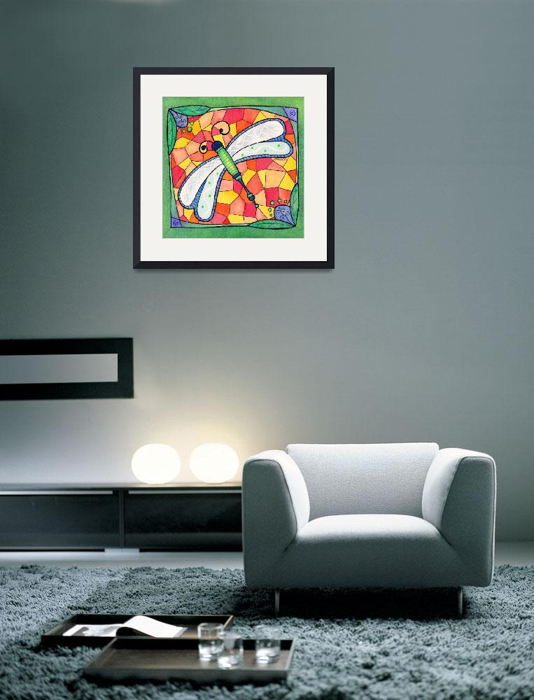 """""""Dragonfly Jewel""""  (2009) by rmcotton"""