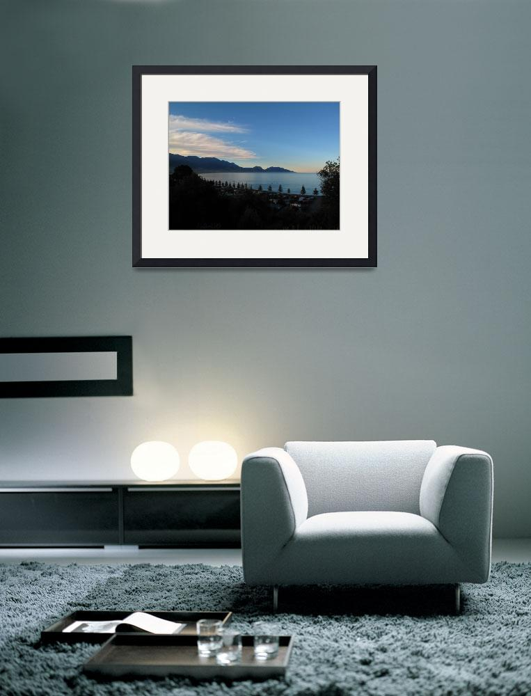 """""""Kaikoura seascape South Island New Zealand&quot  (2010) by M2Mphotography"""