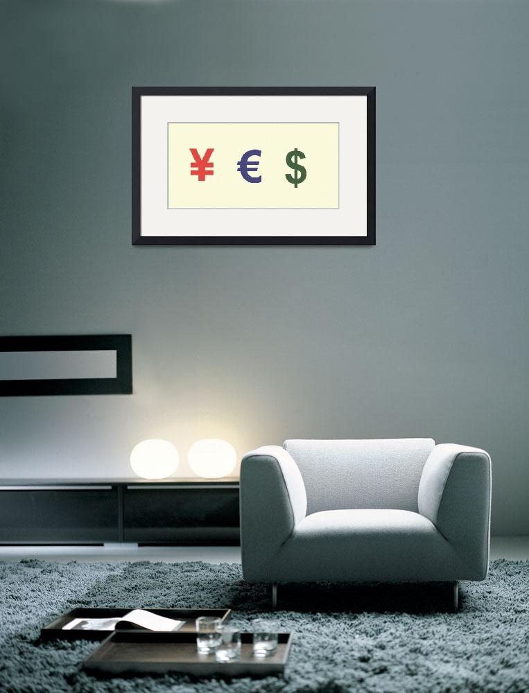 """""""Yes Money Minimalist Poster""""  by motionage"""