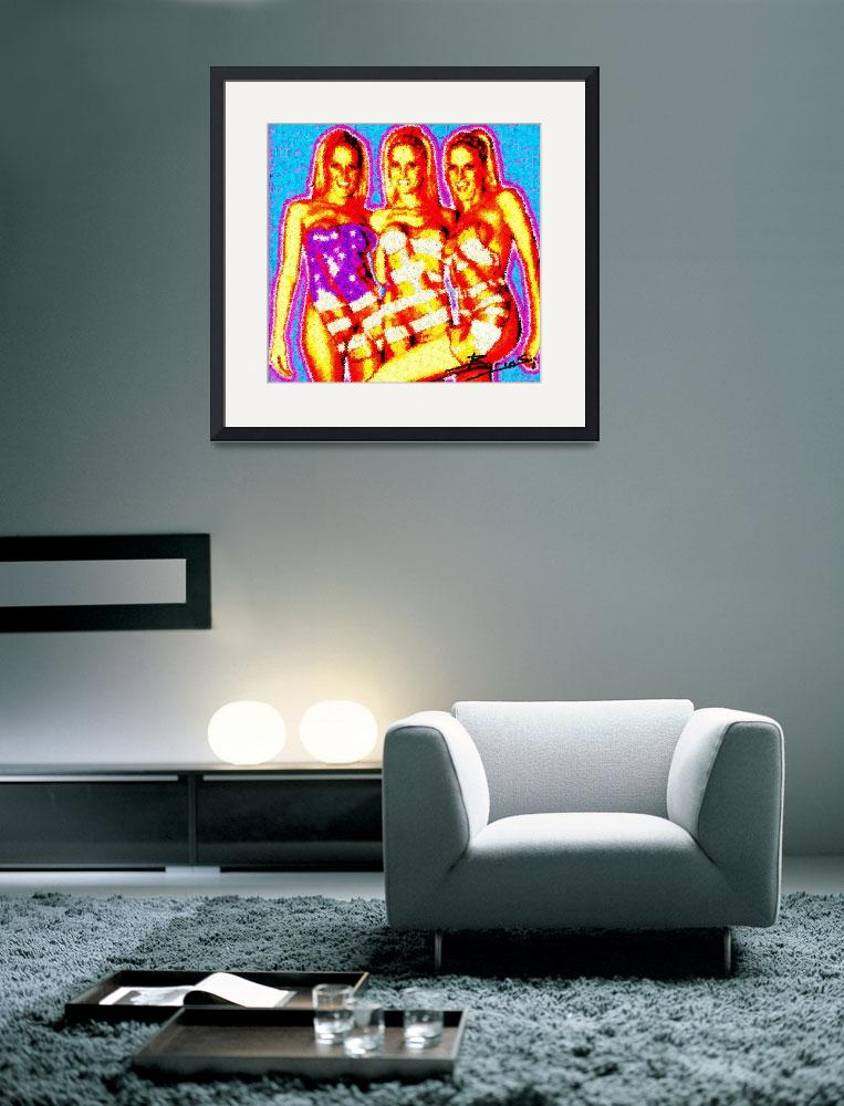 """""""American Girls&quot  (2006) by secondvision"""