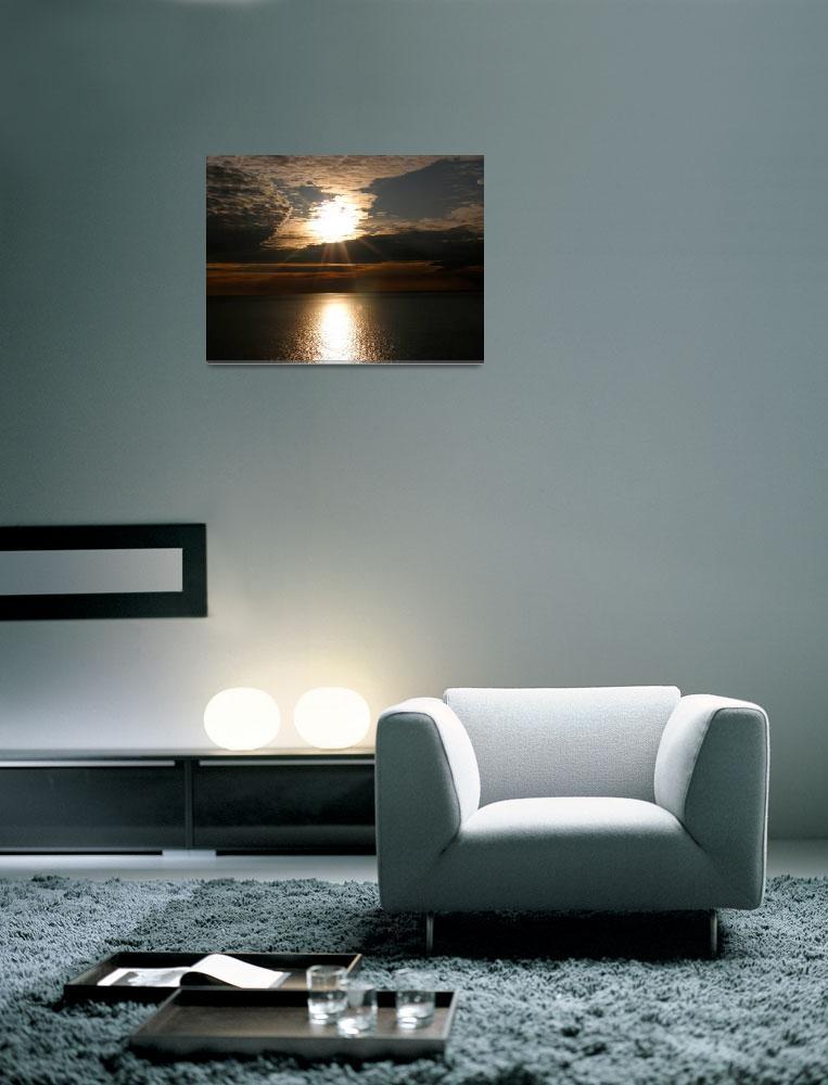 """Aquinnah Sunset,Marthas Vineyard&quot  by CChristopherpix"