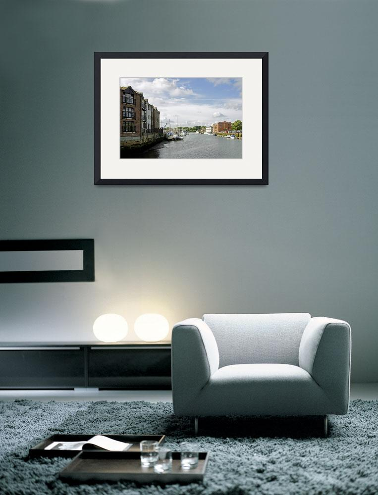 """""""Newport Harbour, IOW (24117-RDA)&quot  (2010) by rodjohnson"""