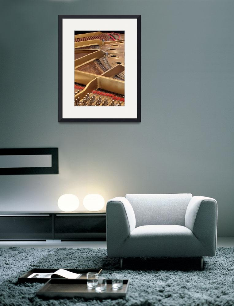 """Inside a Piano""  by WorldDesign"
