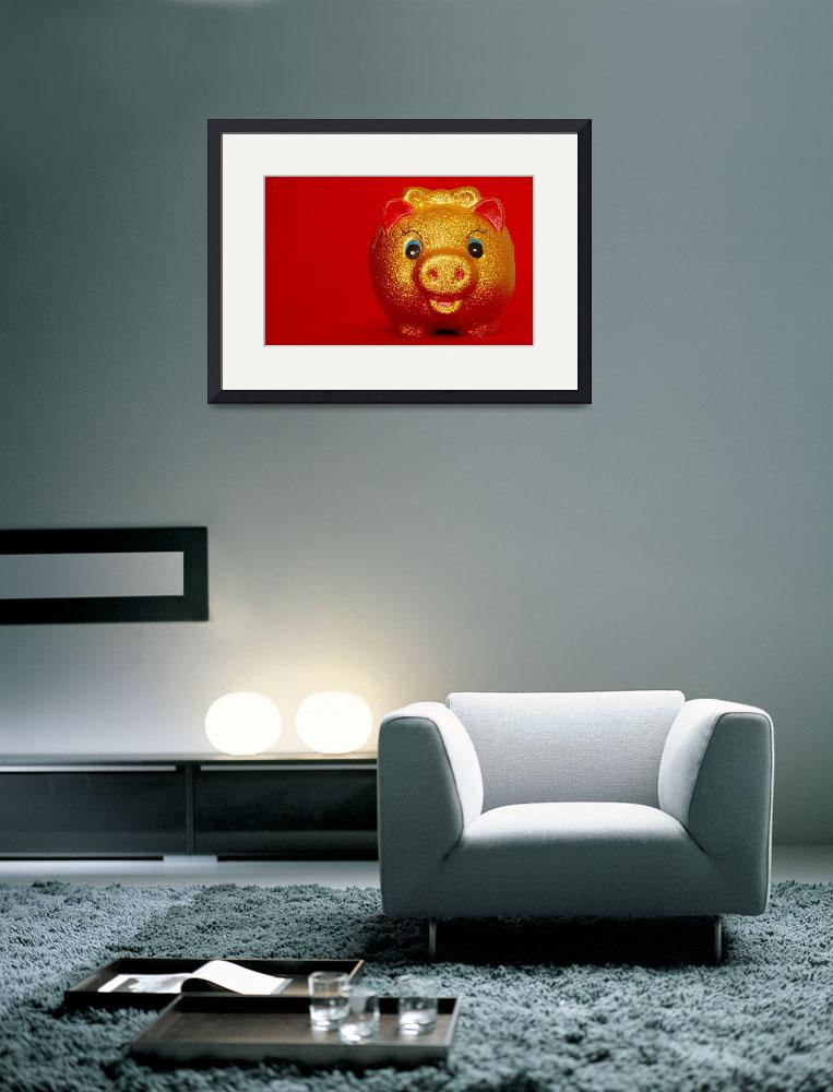 """""""Year of the Golden Pig (恭喜发财!)""""  by 1980Nic"""