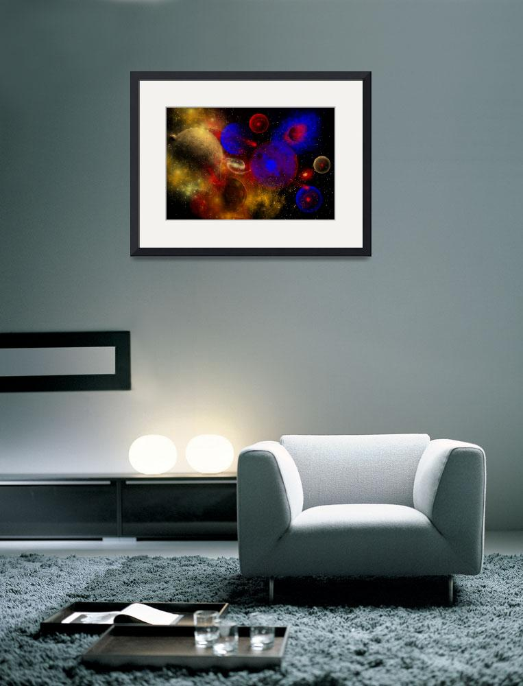 """""""The universe and its wondrous colors and variety o&quot  by stocktrekimages"""