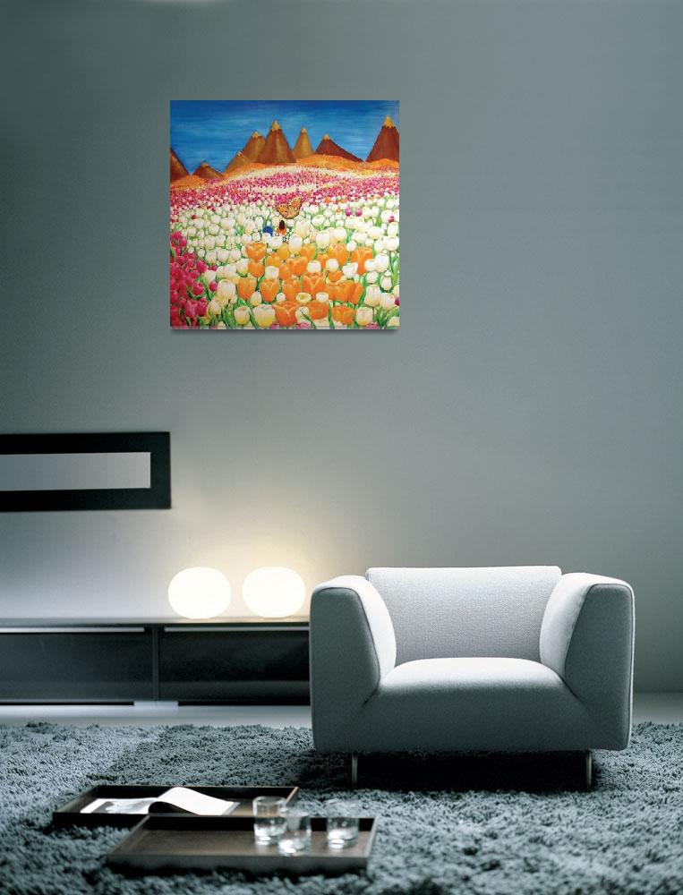 """""""Flowers and Fields Alive with Thy Joy""""  (2011) by ArtSamadhi"""