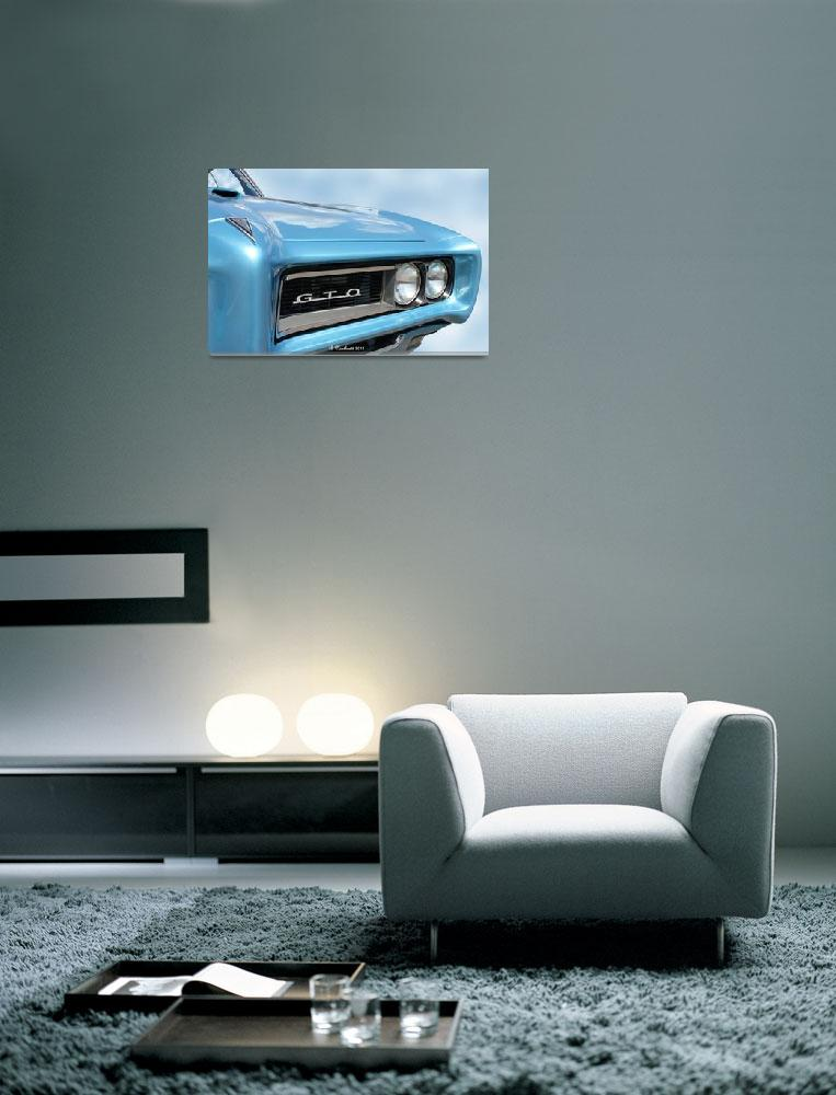 """1968 Pontiac GTO&quot  (2011) by bettynorthcutt"