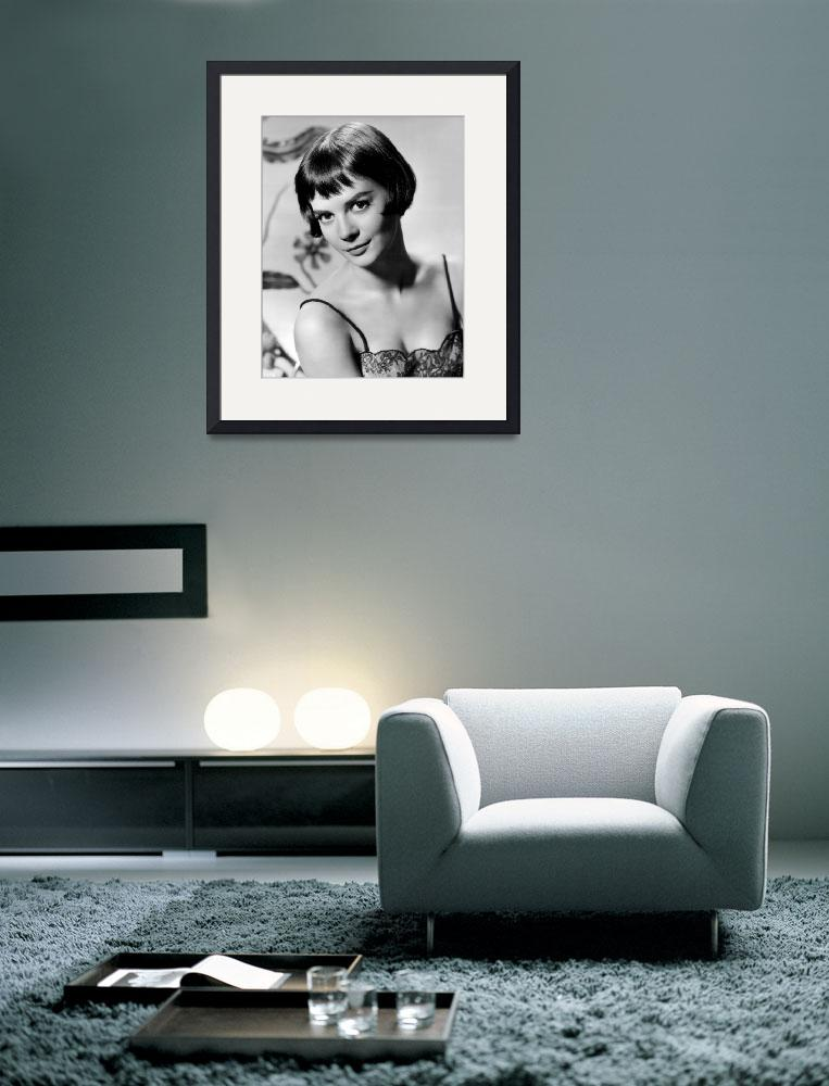 """""""Natalie Wood with short hair&quot  by RetroImagesArchive"""