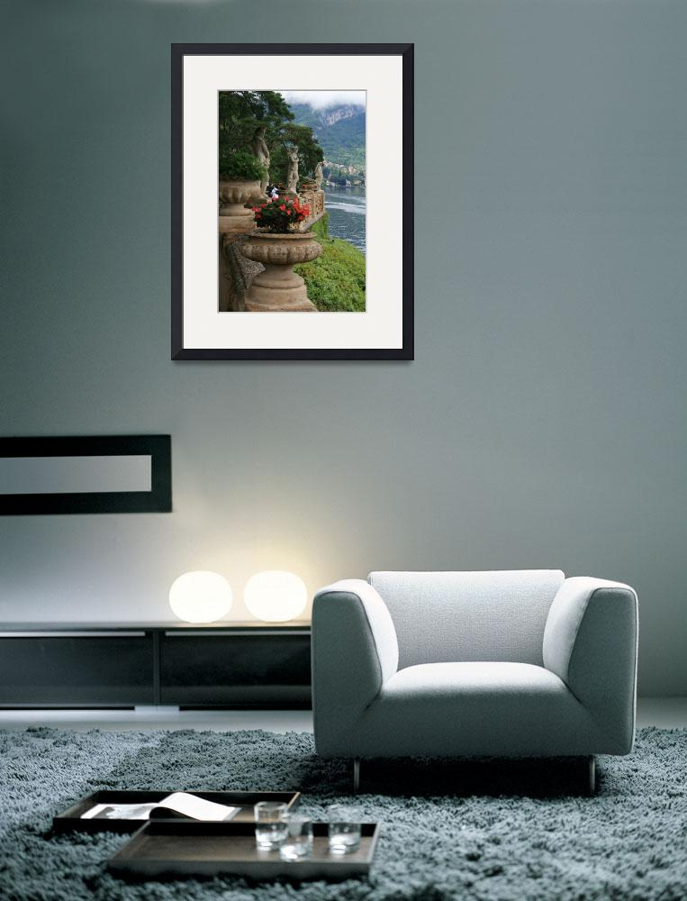 """""""lake como1&quot  (2010) by eschasgallery"""