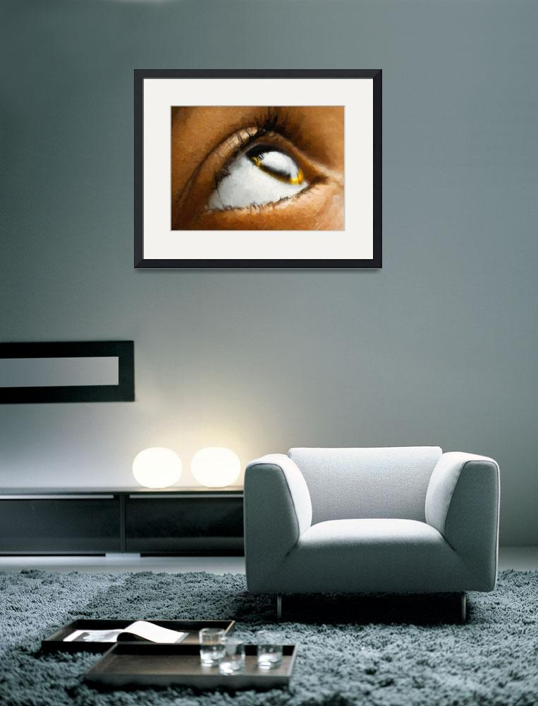 """""""window to the soul (Oil paint)&quot  (2008) by Aaron-H"""