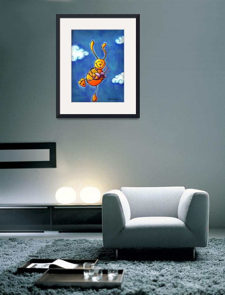"""""""Bunnies High on Love&quot  (2009) by llo"""