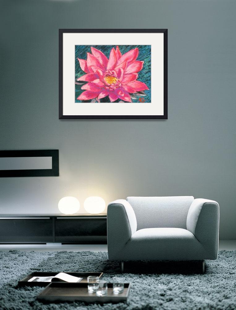 """""""Pink Lotus&quot  (2011) by AbbieGroves"""
