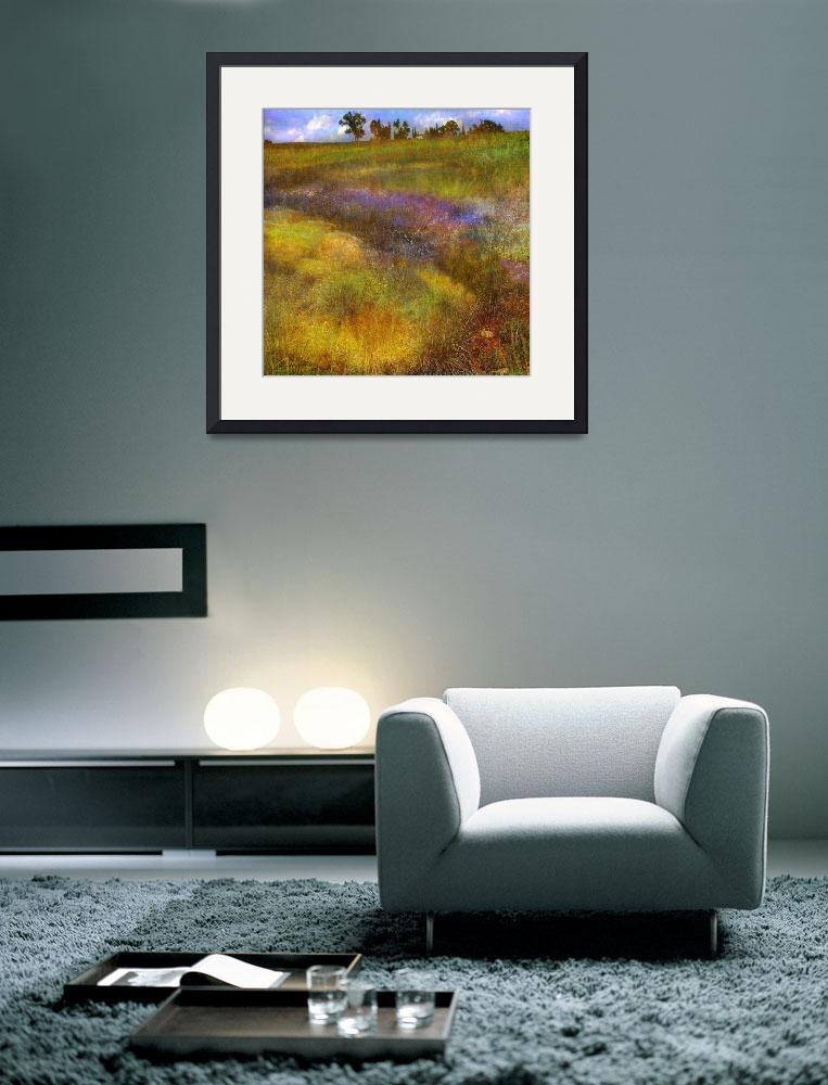 """buzzing summer meadow&quot  (2011) by rchristophervest"