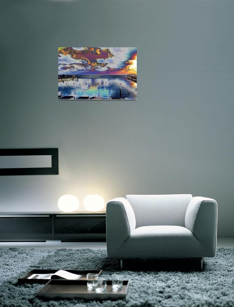 """Pool and Ocean""  (2009) by artforcancer"