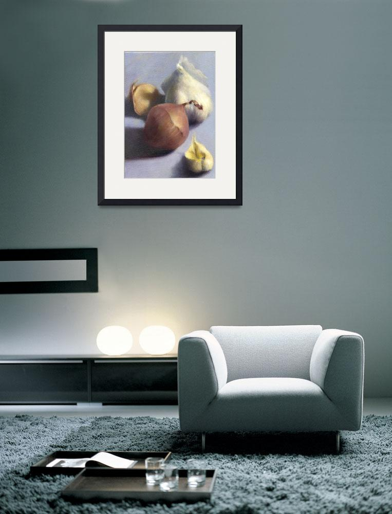 """""""Shallot and Garlic, Cloven&quot  (2008) by JoBradney"""