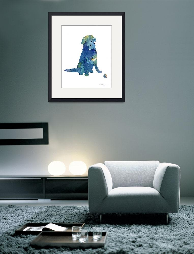 """Golden Retriever&quot  (2015) by k9artgallery"