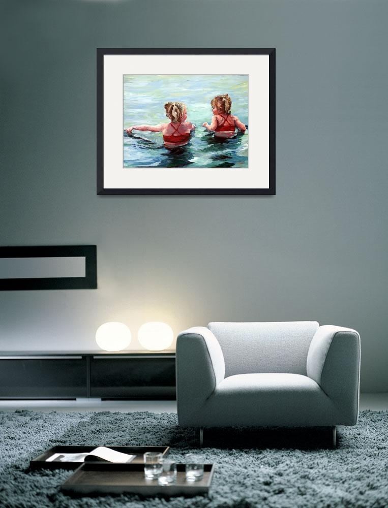 """""""Water Lilies""""  (2010) by BCArt"""